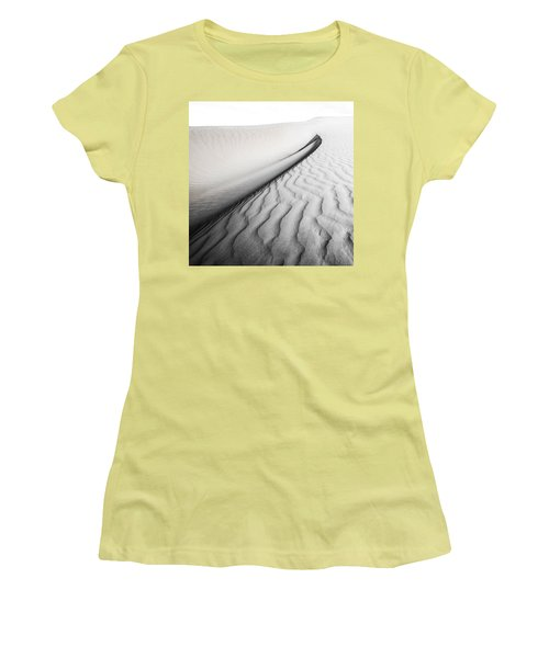 Women's T-Shirt (Junior Cut) featuring the photograph Wave Theory Vi by Ryan Weddle