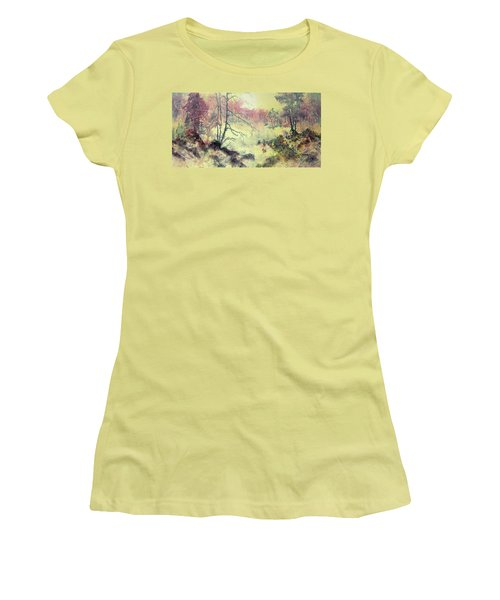 Woods And Wetlands Women's T-Shirt (Athletic Fit)