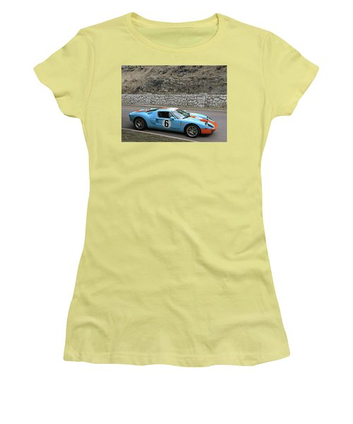 Women's T-Shirt (Junior Cut) featuring the photograph 2006 Ford Gt  by Christopher McKenzie