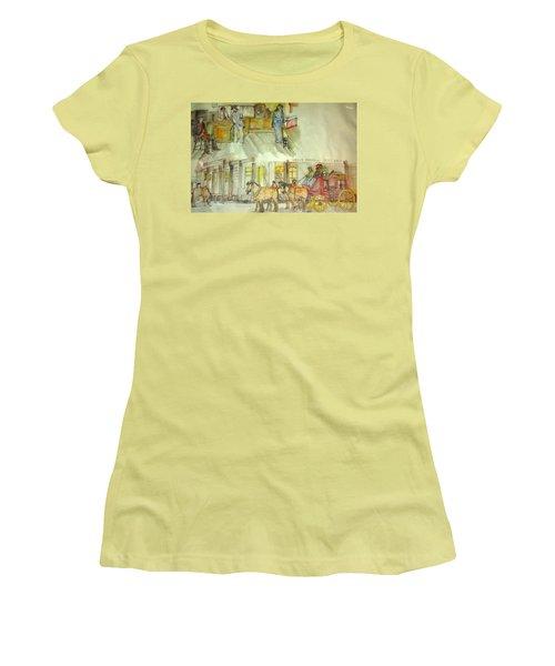 the ole' West my way album Women's T-Shirt (Junior Cut) by Debbi Saccomanno Chan
