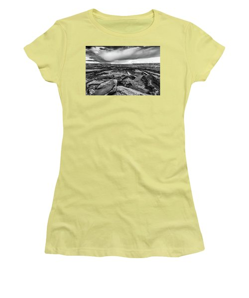 Women's T-Shirt (Junior Cut) featuring the photograph Dead Horse Point by Jay Stockhaus