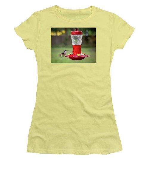 My Sweet Hummingbird Women's T-Shirt (Junior Cut) by Denis Lemay