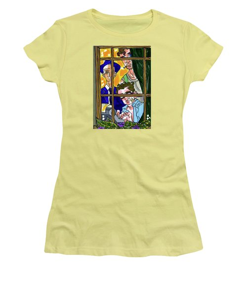 3 Muses Women's T-Shirt (Athletic Fit)