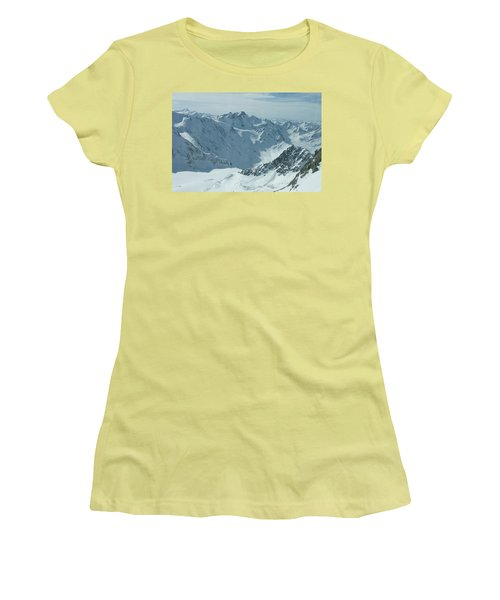 Pitztal Glacier Women's T-Shirt (Athletic Fit)