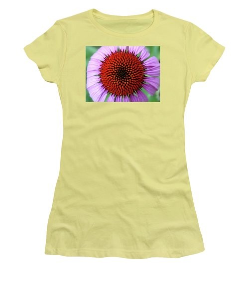 Purple Coneflower  Women's T-Shirt (Junior Cut) by Rebecca Overton