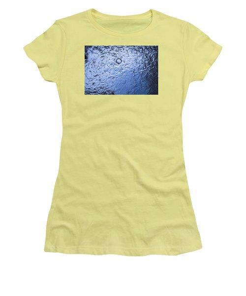 Water Abstraction - Blue Women's T-Shirt (Junior Cut)