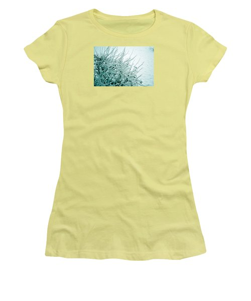 Women's T-Shirt (Junior Cut) featuring the photograph Winter Wonderland In Switzerland by Susanne Van Hulst