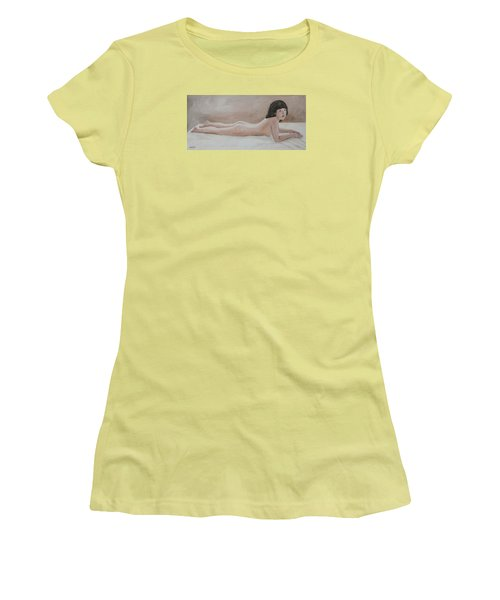Young Girl Women's T-Shirt (Athletic Fit)