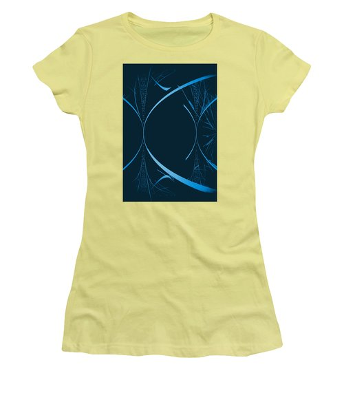 35 In Blue Women's T-Shirt (Athletic Fit)