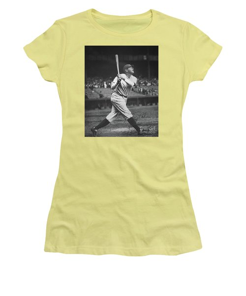 Babe Ruth  Women's T-Shirt (Athletic Fit)
