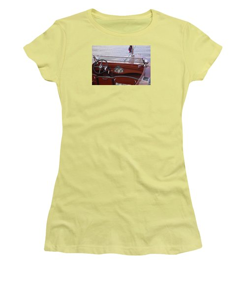 Chris Craft Runabout Women's T-Shirt (Athletic Fit)