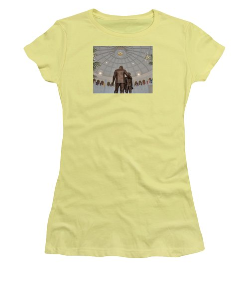 Milton Hershey And The Boy Women's T-Shirt (Athletic Fit)