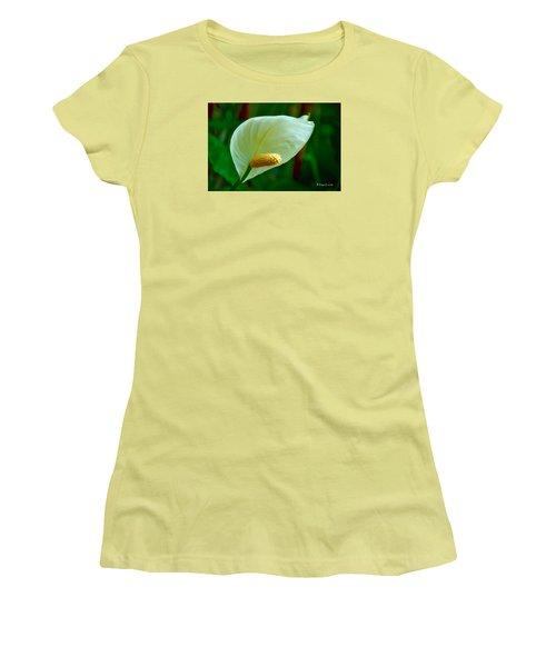 No Title Women's T-Shirt (Junior Cut) by Edgar Torres