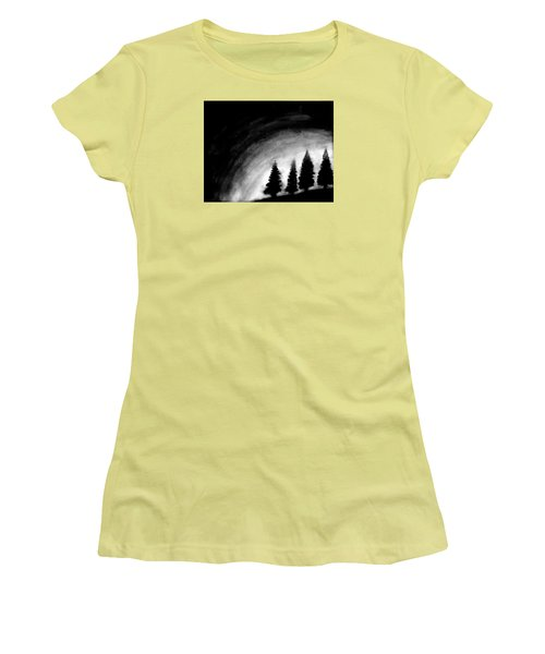 4 Pines Women's T-Shirt (Junior Cut) by Salman Ravish
