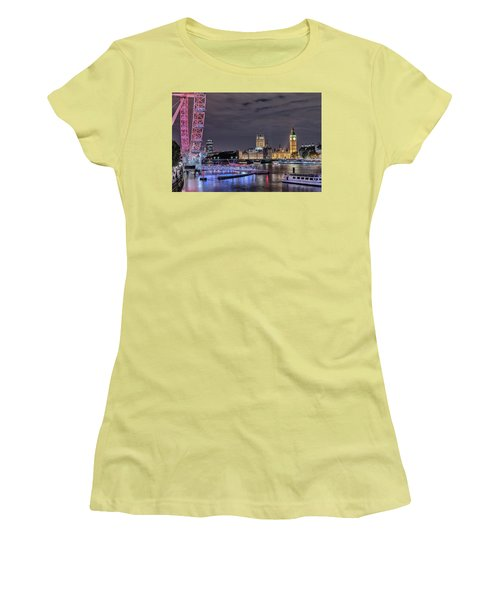 Westminster - London Women's T-Shirt (Junior Cut) by Joana Kruse