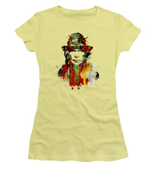 Neil Young Collection Women's T-Shirt (Athletic Fit)