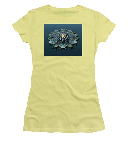 Women's T-Shirt (Athletic Fit) featuring the photograph 4468 by Peter Holme III