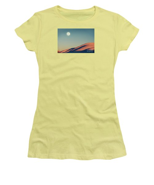 Beautiful Winter Landscape Women's T-Shirt (Athletic Fit)