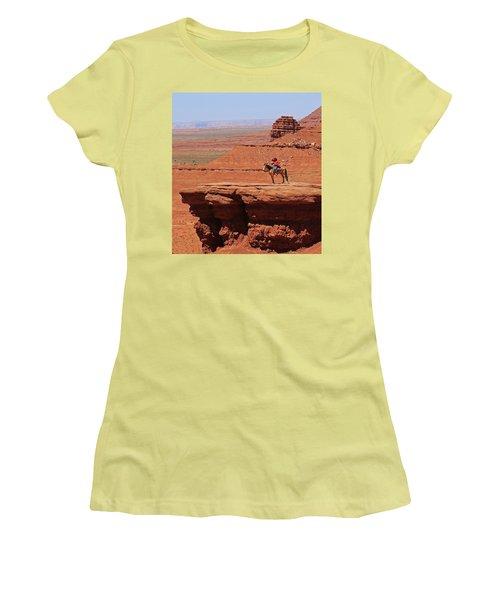 Grand Canyon Women's T-Shirt (Junior Cut) by Ronald Olivier