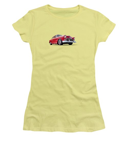 55 Red Women's T-Shirt (Athletic Fit)