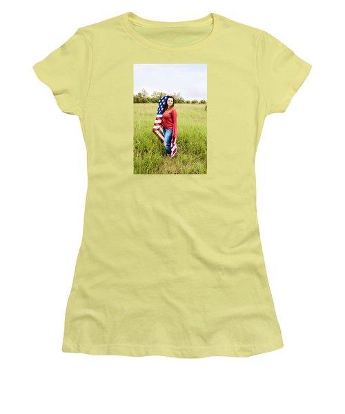 5623-2 Women's T-Shirt (Junior Cut) by Teresa Blanton