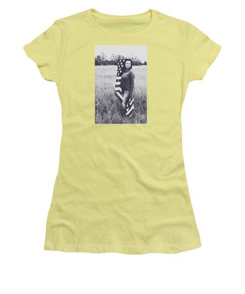 5624-4 Women's T-Shirt (Junior Cut) by Teresa Blanton