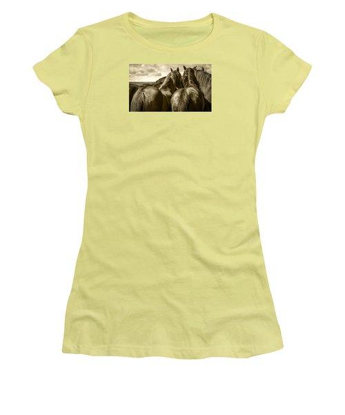 #5815 - Mortana Morgan Mares Women's T-Shirt (Athletic Fit)
