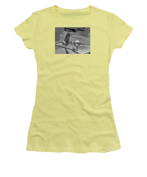 Chris Craft Custom Women's T-Shirt (Athletic Fit)