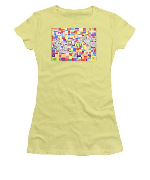 76 Aka The Gift Women's T-Shirt (Junior Cut) by Jeremy Aiyadurai