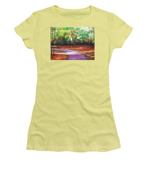 Home Women's T-Shirt (Athletic Fit)