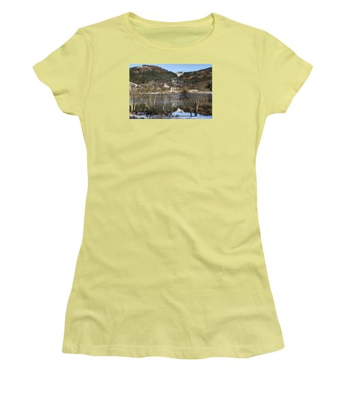 Trossachs Scenery In Scotland Women's T-Shirt (Junior Cut) by Jeremy Lavender Photography