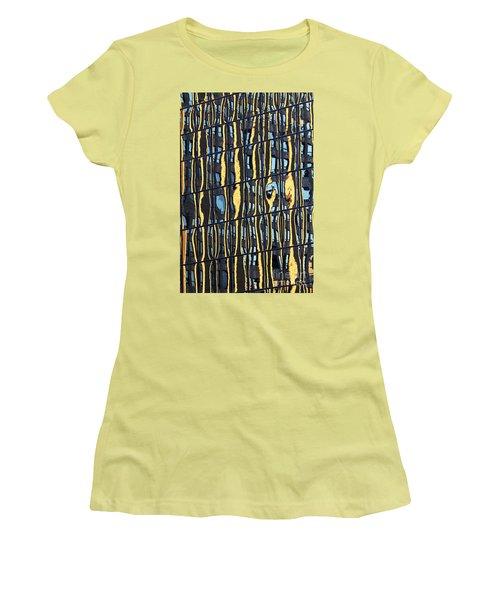 Abstract Reflection Women's T-Shirt (Junior Cut) by Tony Cordoza