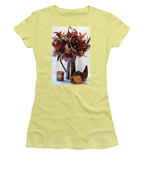 A Autumn Day Women's T-Shirt (Athletic Fit)