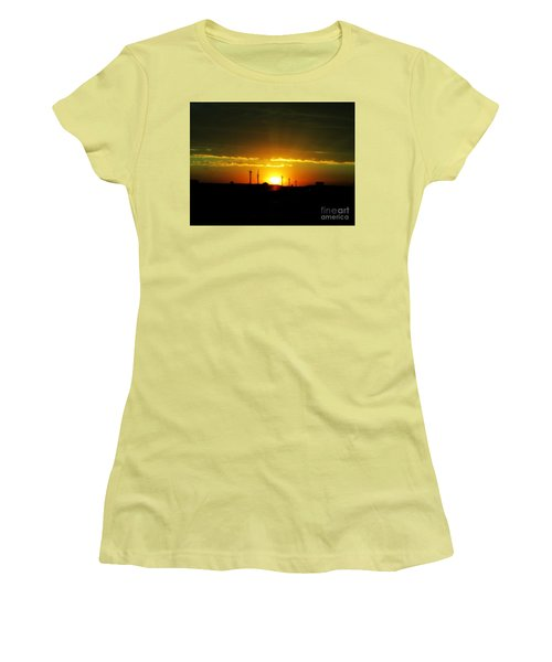 A Brighter Future Women's T-Shirt (Athletic Fit)