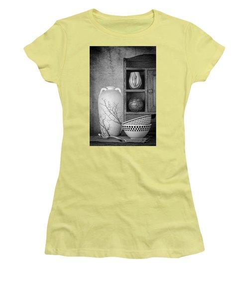 Women's T-Shirt (Junior Cut) featuring the photograph A Corner Of The Kitchen by Tom Mc Nemar