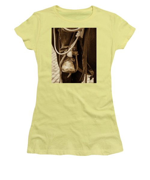 A Cowboy's Boot Women's T-Shirt (Athletic Fit)