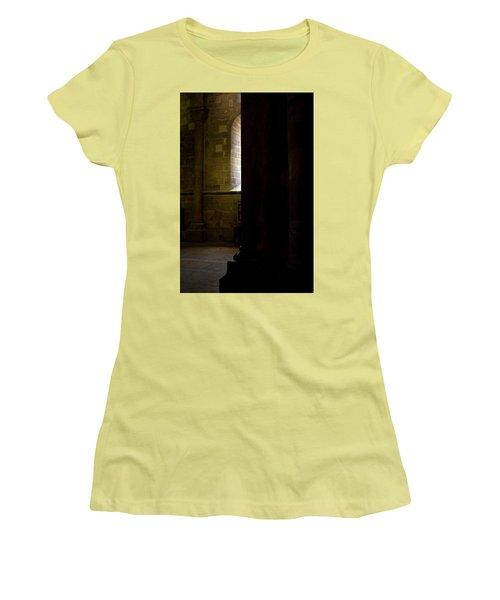 Women's T-Shirt (Junior Cut) featuring the photograph Slice Of Light by Lorraine Devon Wilke