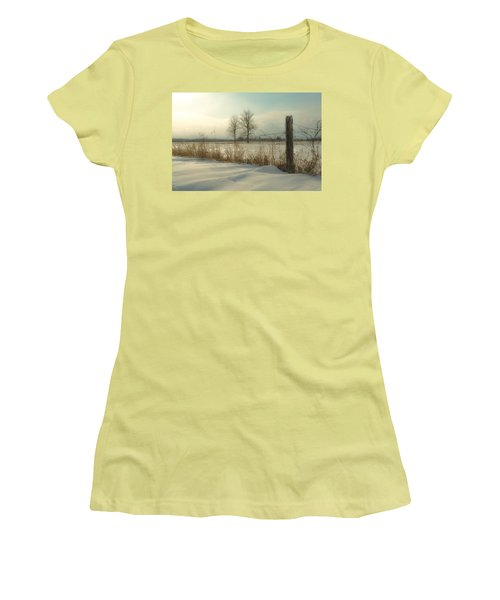 A Dawn Of New Snow Women's T-Shirt (Athletic Fit)