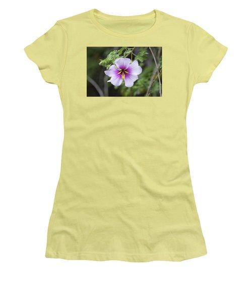 A Flower Women's T-Shirt (Junior Cut) by Alex King
