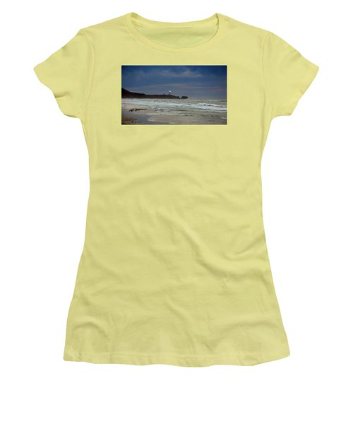 A Guiding Light Women's T-Shirt (Junior Cut) by Jim Walls PhotoArtist