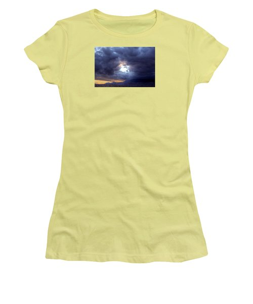 A Hole In The Sky Women's T-Shirt (Athletic Fit)