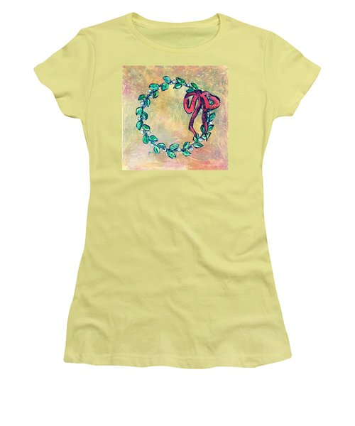 A Little Wreath Women's T-Shirt (Athletic Fit)