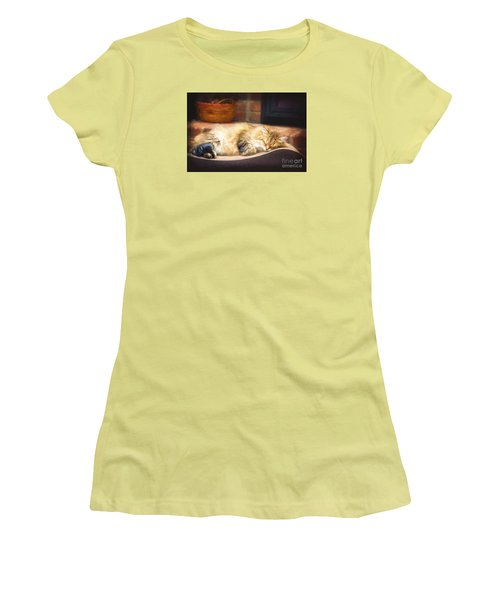 A Long Winter's Nap Women's T-Shirt (Athletic Fit)