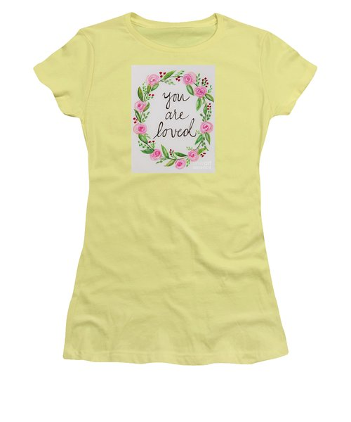 A Love Note Women's T-Shirt (Athletic Fit)