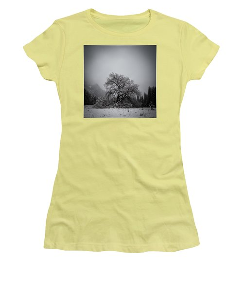 A Magic Tree Women's T-Shirt (Junior Cut) by Lora Lee Chapman