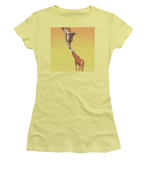 A Mother's Love Women's T-Shirt (Junior Cut) by Thomas J Herring