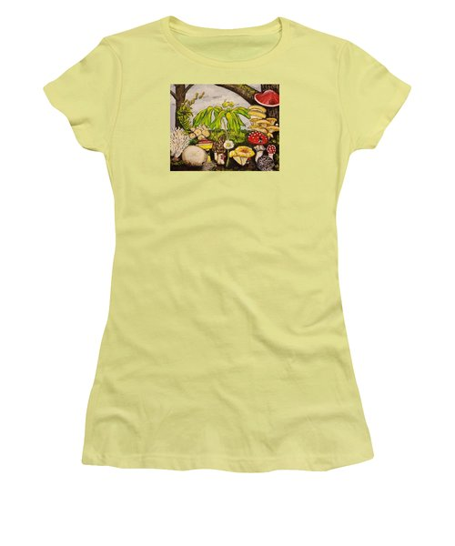 A Mushroom Story Women's T-Shirt (Athletic Fit)
