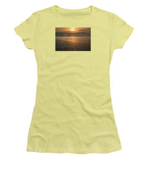 Women's T-Shirt (Junior Cut) featuring the photograph A New Day Dawning by Renee Hardison