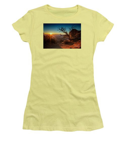 A New Day Dawns Women's T-Shirt (Athletic Fit)