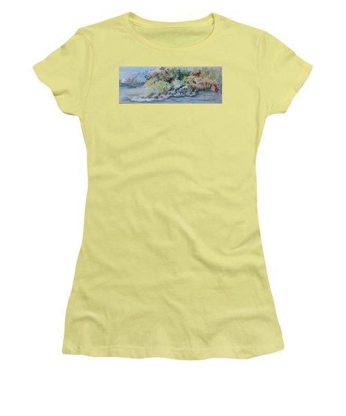 A Northern Shoreline Women's T-Shirt (Junior Cut) by Joanne Smoley